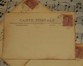 50 Vintage Post Card Wedding Placecard or Escort Cards - Paris Vintage Post Cards