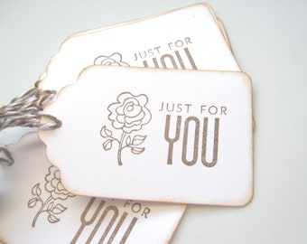 Just For Your Gift Tags