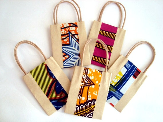 Wedding Gifts South Africa: Wedding Favour Party Bag Small Gift Bag African Wax By