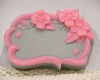 FLORAL FRAME SoAP - Rapture VS Duplication Type* Scent - Decorative - Gift  Soap -