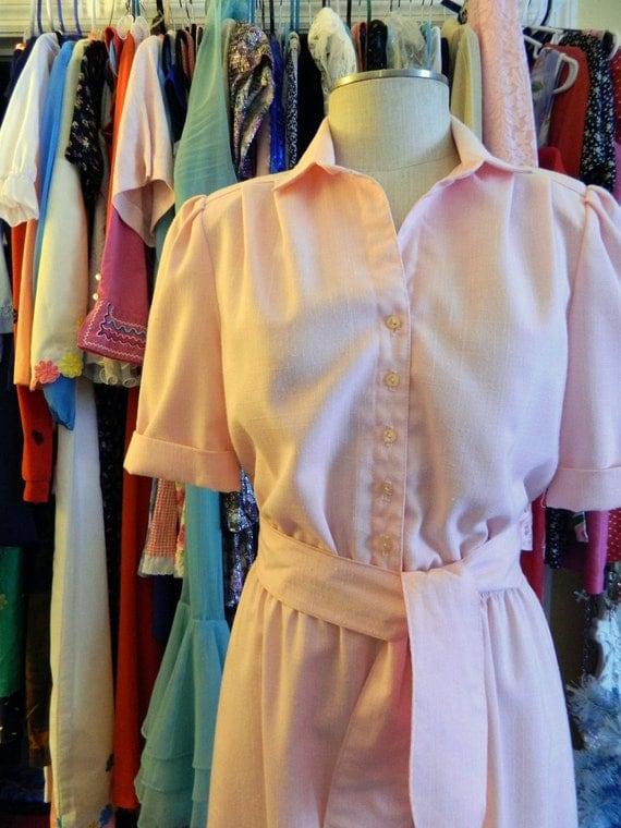 Leslie Fay Pink Vintage Dress