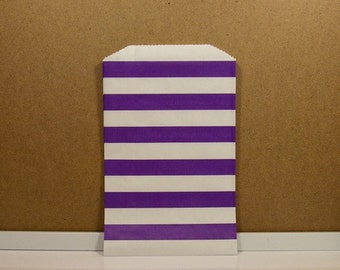 Horizontal Middy Bitty Bags - Purple