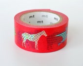 mt Washi Masking Tape - Animal Dot - Limited Edition