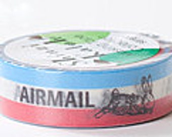 Shinzi Katoh Masking Tape - Airmail Stripes