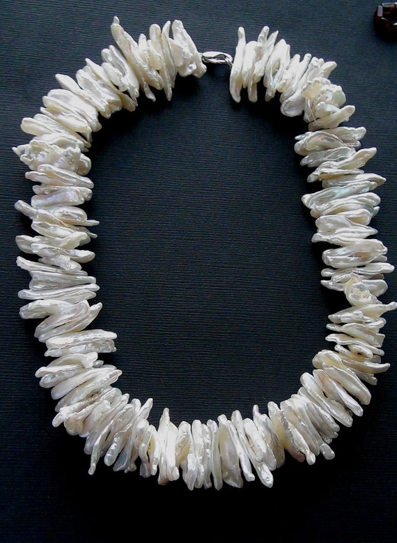 Freshwater cultured pearl- 20mm- 16 inch