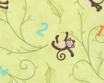 Grow with me Green Monkey Business by Moda
