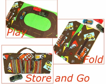 Toy Car Carrier and Play Mat  immediate download of PDF SEWING PATTERN