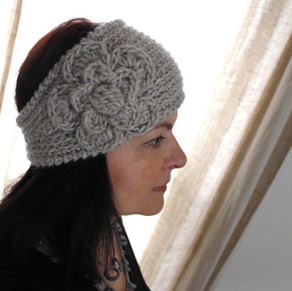 CROCHET PATTERN - Fast Crochet Headband Kayla Bulky Weight Yarn Two Sizes