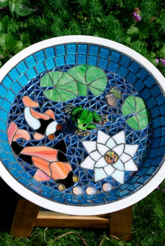 Unavailable listing on etsy for Koi pool table