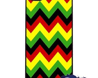 Jamaican Me Crazy Chevron - iPhone Cover, Case