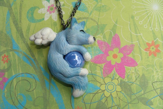 Custom Fox Necklace Reserved for Christine Smith