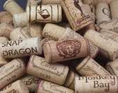 100 Assorted Reclaimed Wine Corks // Composite Corks