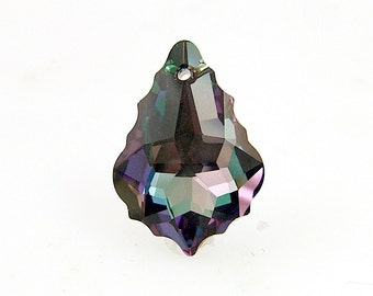 Swarovski 6090 Light Amethyst Vitrail Light 22mm (1) Discontinued Color Don't Miss This One