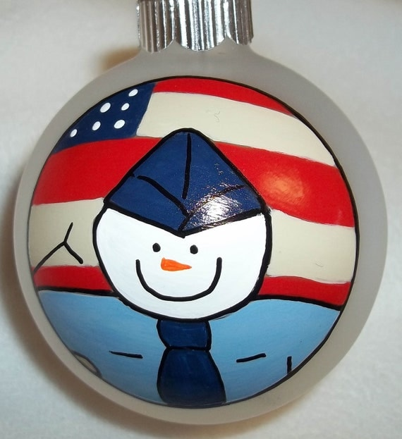 Items similar to United States Airforce Christmas Ornament ...