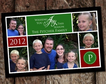 Photo Digital Christmas Card