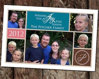 Digital Photo Christmas Card