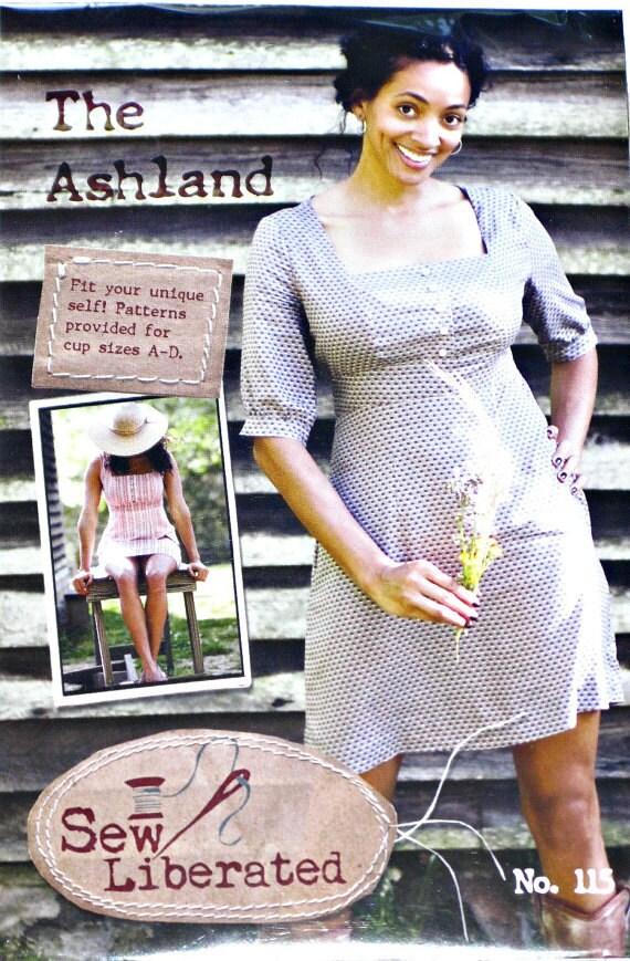 The Ashland Dress by Sew Liberated Sewing Pattern