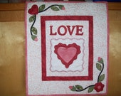 Love- Quilted Wall Hanging