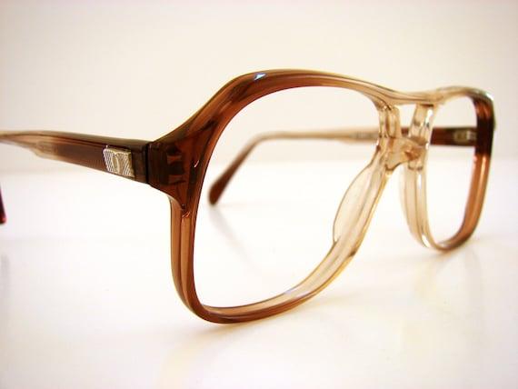 ombre aviator vintage frames eyeglasses chic