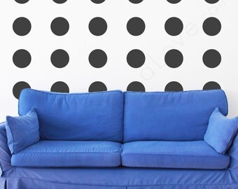 Equal Polka Dot Wall Decals- 6 inches
