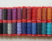 Genziana Wool Thread Sampler Pack for Wool Applique and Embroidery Number 1