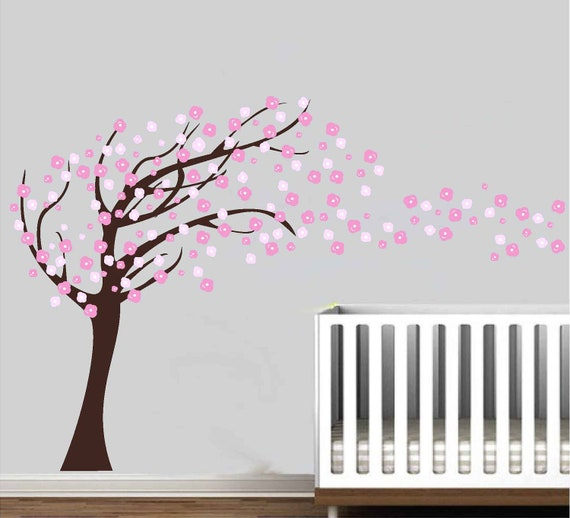 Items Similar To Cherry Blossom Tree Wall Decal Sticker On