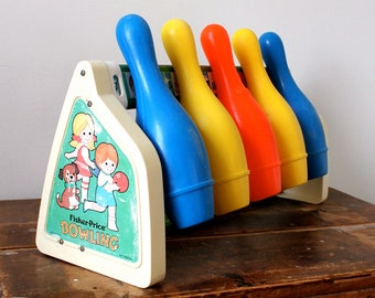 70s Fisher-Price Bowling toy
