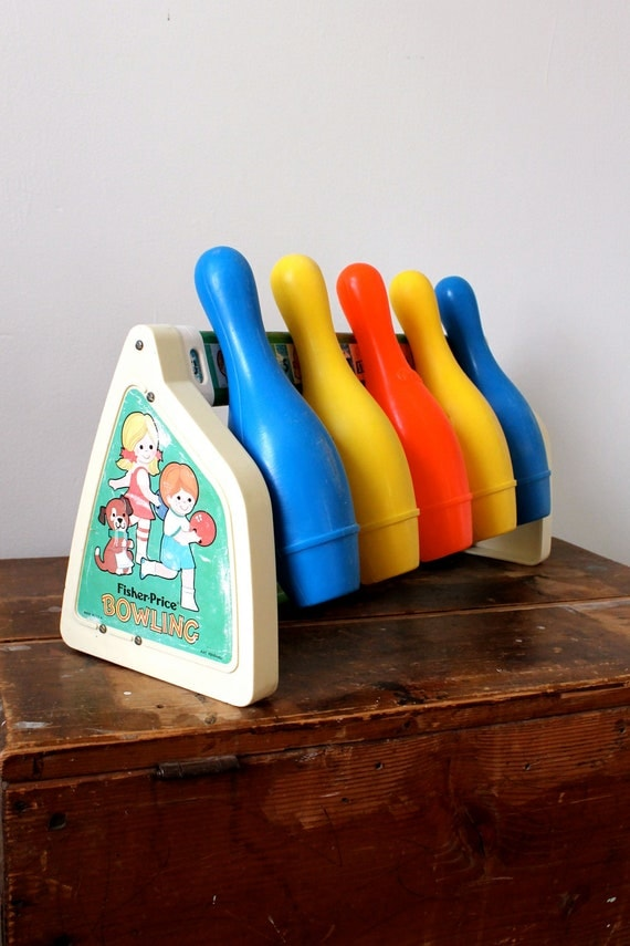 70s Fisher Price Bowling Toy