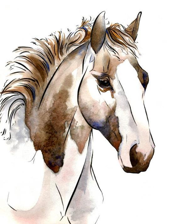 "Items similar to Horse Art: ""Diva"", Archival Giclee ..."