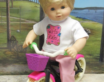 Girls Rule Play Outfit for Bitty Baby Doll