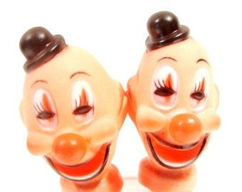 Clown Head Picks or Doll Heads
