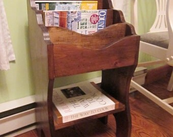 magazine rack mail organizer
