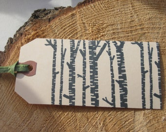 SALE  Black Birch Tags- 10 Tags