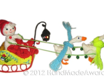The Sleigh Pdf Email Knit PATTERN