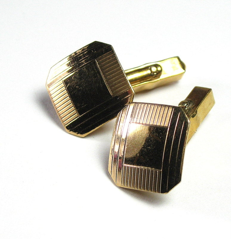 Swank cufflinks mens accessories mad men style for him 10k for What is swank jewelry