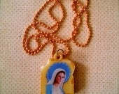 Grilled Cheese Sandwich Pendant VIRGIN MARY