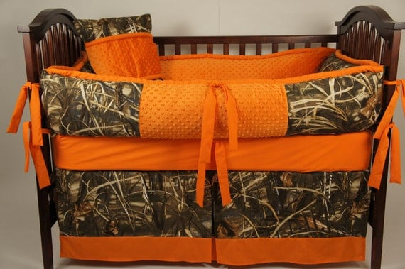 Items Similar To Realtree Max 4 Hd Custom Made Baby Crib