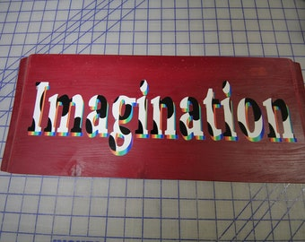 Insiprational Word Plaque