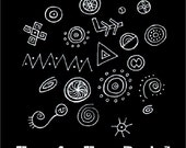 "Inspiration Sketchbook 1 - ""The Tangles of Kells"" PDF eBook"