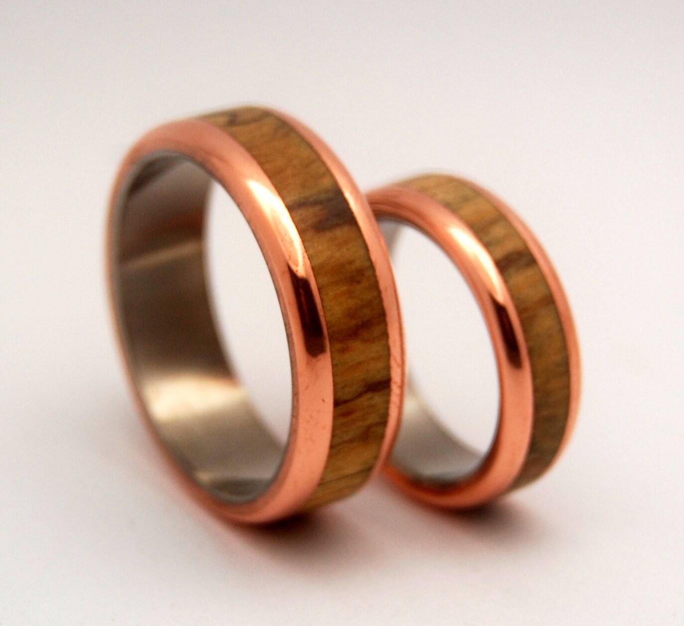 wedding rings titanium rings wood rings wooden wedding bands mens wood rings mens rings Titanium Wedding Bands zoom