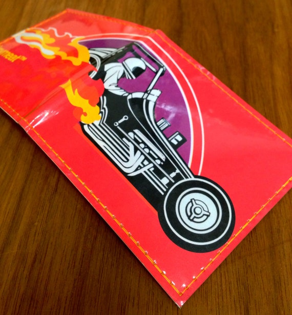 Red Hot Sprintcar Billfold Wallet