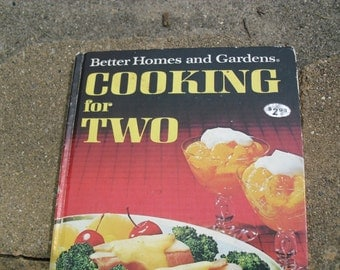Vintage Cookbook Better Homes and Gardens Cooking for Two
