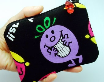 RS Happy dolls - Zipper pouch / coin purse (padded) (ZS-46)