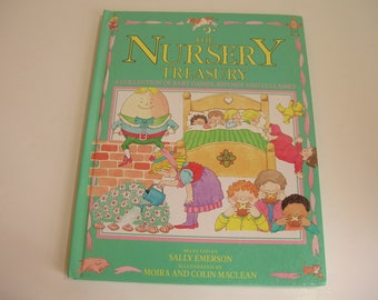 The Nursery Treasury Vintage Illustrated Children's Book