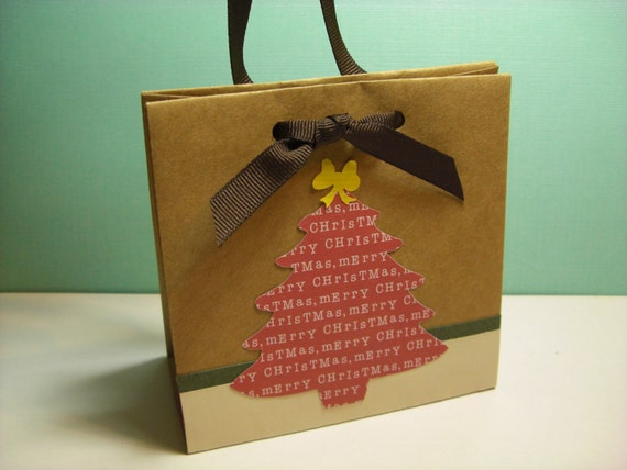 Christmas Mini Gift Bag (set of 4)