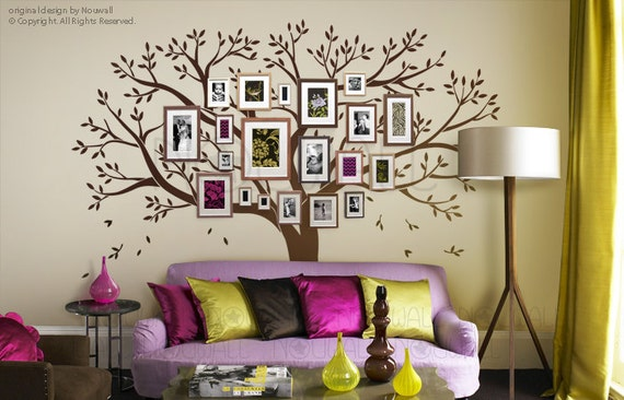 ... Wall Decals - Photo frame tree. ◅