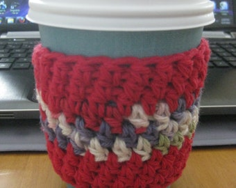 Coffee Cozy - Candy Apple Red