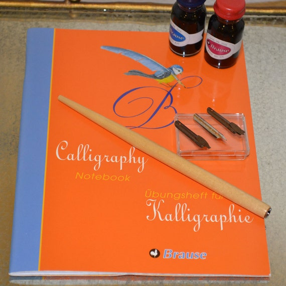Brause Beginners Calligraphy Set By Happyappleco On Etsy