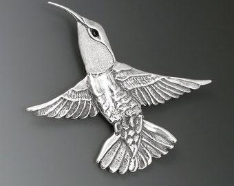 Hummingbird Sterling Silver Pin/Brooch