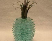 Stacked Glass Pineapple